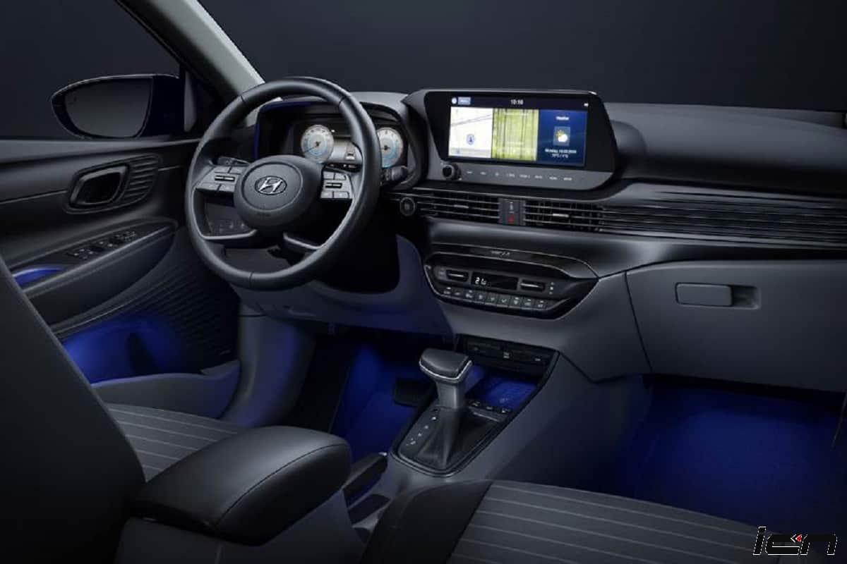 2020 Hyundai i20 interior