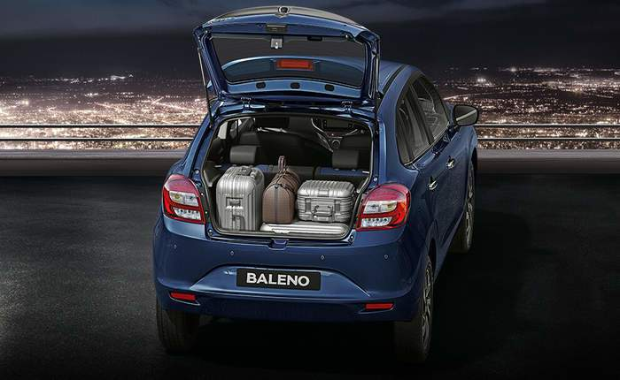 Used Baleno Boot Space