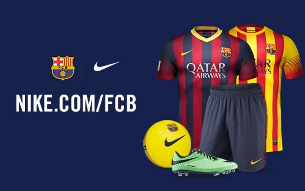 Barcelona With nike
