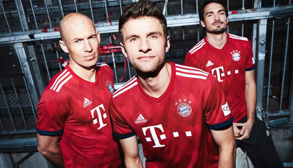 Bayern Munich with adidas