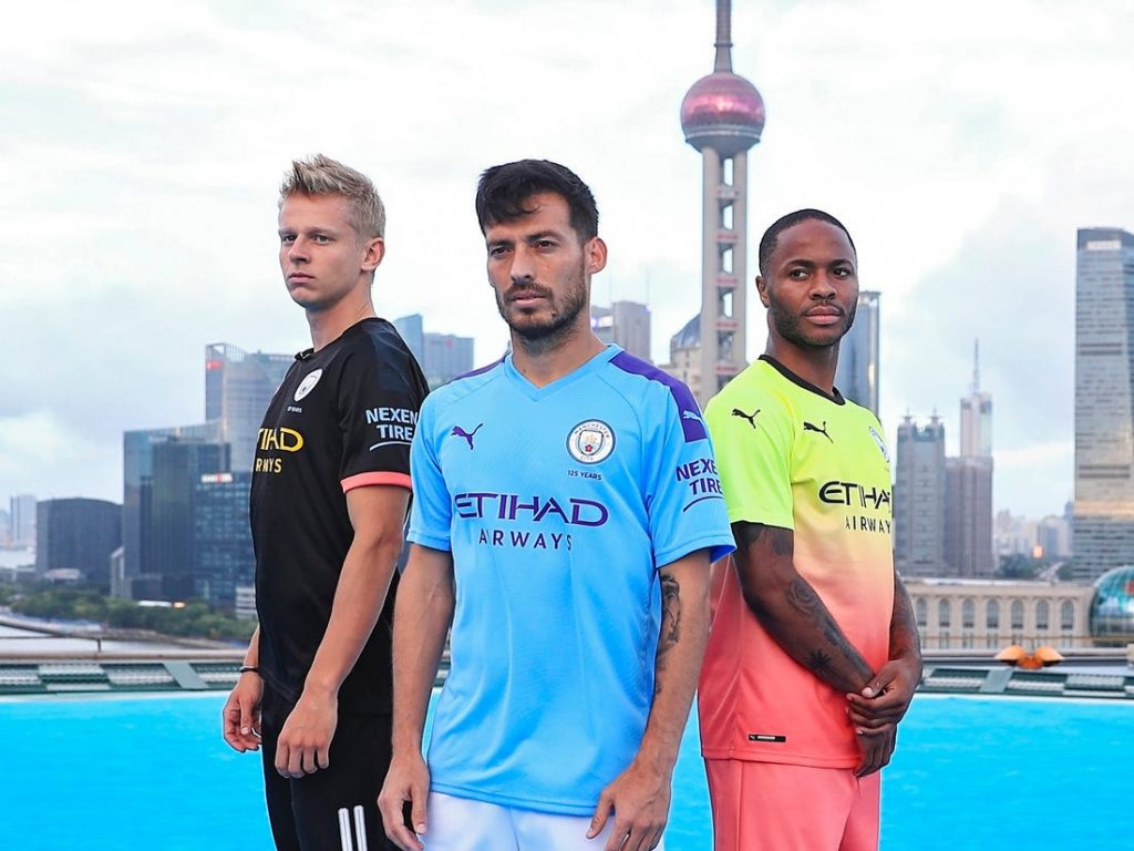 Manchester City With Puma