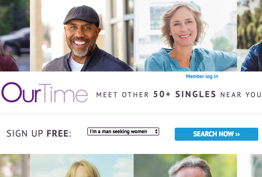 Best Dating Site for Seniors — Our Time