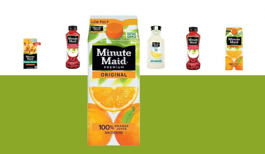 Minute Maid by Coca-Cola