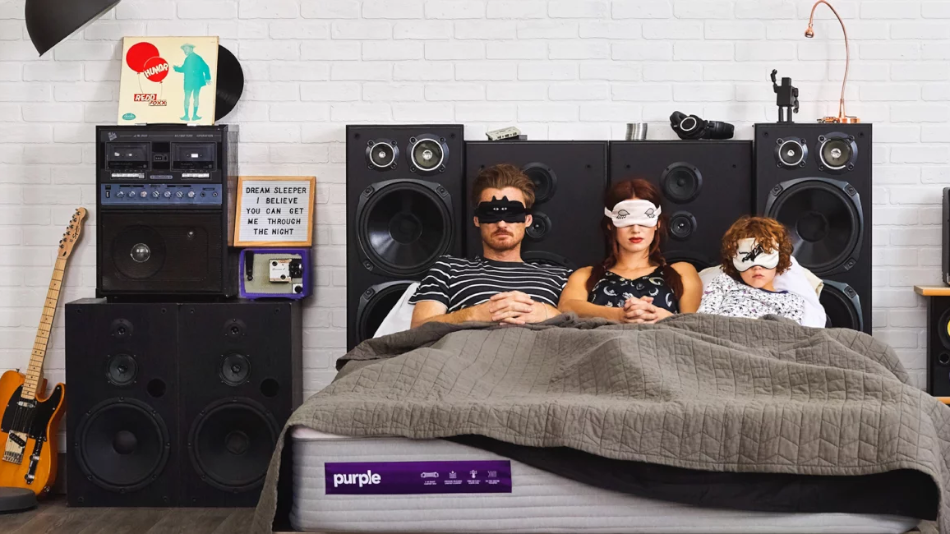 Purple: The Comfort Technology Mattress