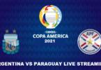 Argentina vs Paraguay Copa America Live stream